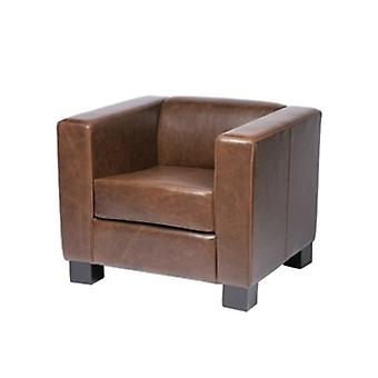 Callo Faux Leather Armchair