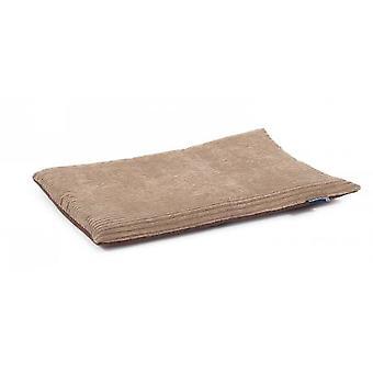 Timberwolf Flat Pad Faux Suede 92x61cm
