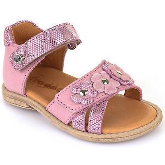 Froddo dziewczyn G2150066-2 sandały bladoróżowy