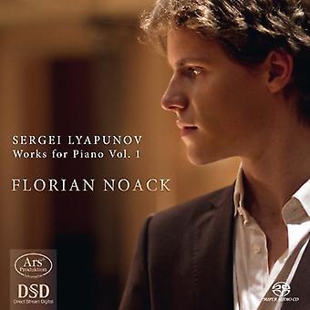 Lyapunov / Noack - importación de obras para Piano 1 [SACD] Estados Unidos