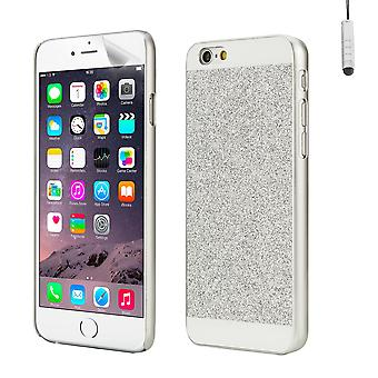 Glitter case cover for Apple iPhone 6 Plus (5.5 inch) - Silver