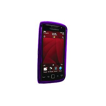 OEM Verizon BlackBerry Torch 9850 Silicone Case (Purple)