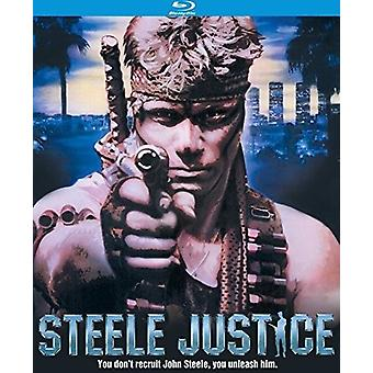 Importation de Steele USA Justice (1987) [Blu-ray]