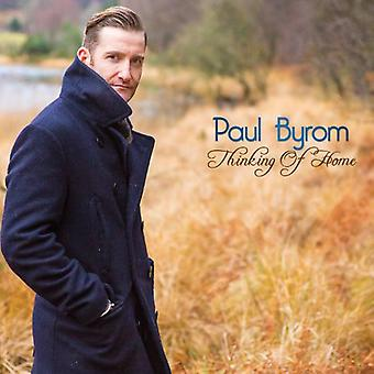 Paul Byrom - Thinking of Home [CD] USA import