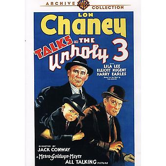 Unholy 3 (1930) [DVD] USA import