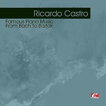 Ricardo Castro - słynnego fortepian muzyka od Bacha do importu USA Bartokiana [CD]