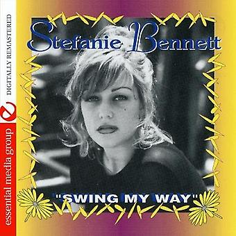 Stefanie Bennett - Swing My Way [CD] USA import