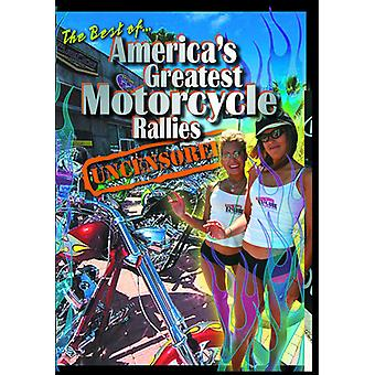 America's Greatest Motorcycle Rallies Uncensored [DVD] USA import