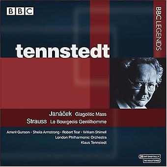 L. Janacek - Jan Cek: Glagolitiske massen; Strauss: Le Bourgeois Gentilhomme [CD] USA importerer