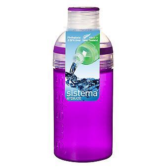 Sistema Trio Drink Bottle 480ml, Purple