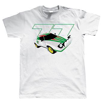 Stratos HF, Herre Rally bil T-Shirt