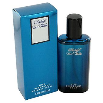 Davidoff Men Cool Water Deodorant Spray (Glass) By Davidoff