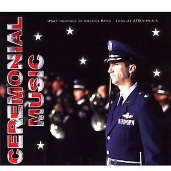 US Air Force arv af Amerika Band - ceremoniel musik [CD] USA importerer