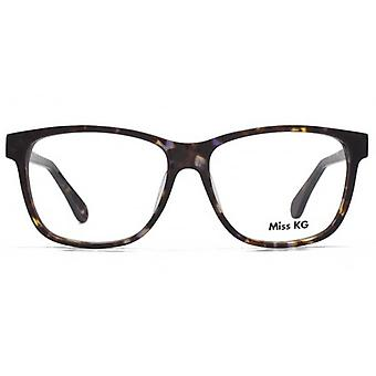 Miss KG Izzi Square Glasses In Tortoiseshell