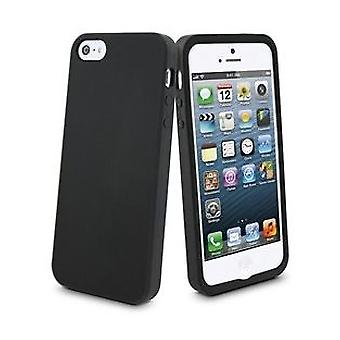 Muvit silicone cover case for iPhone 5 / 5S - Black
