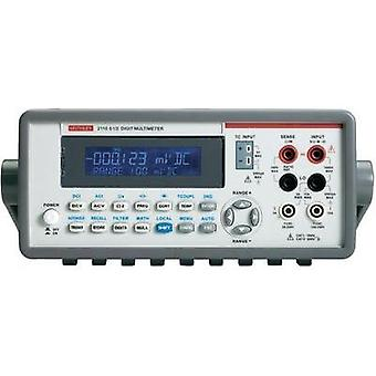 Bench multimeter digital Keithley 2110-240 Calibrated to: Manufacturer's standards (no certificate) CAT II 600 V Displa