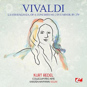 Vivaldi - La Stravaganza OP. 4 Konzert Nr. 2 in E Minor Rv [CD] USA import