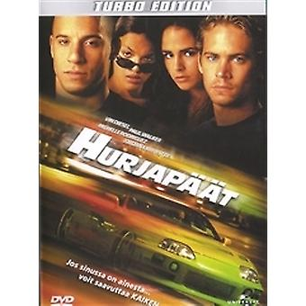 The Fast And The Furious (Turbo Edition) (DVD) (utilisé)