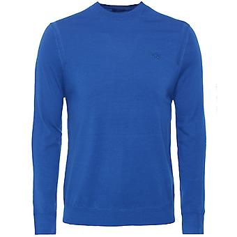 La Martina Wool Crew Neck Quin Jumper
