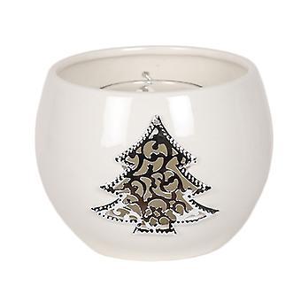 Aroma Christmas Tree Round Tealight Holder