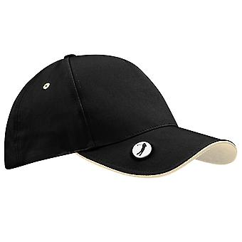 Beechfield Pro-Style Ball Mark Golf Baseball Cap / Headwear