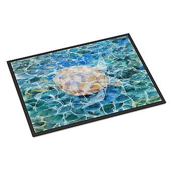 Meeresschildkröte unter Wasser Indoor oder Outdoor-Matte 18 x 27