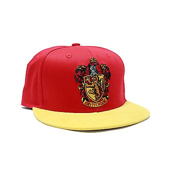 Harry Potter Baseball Cap House Gryffindor Crest Official New Red Snapback Hat