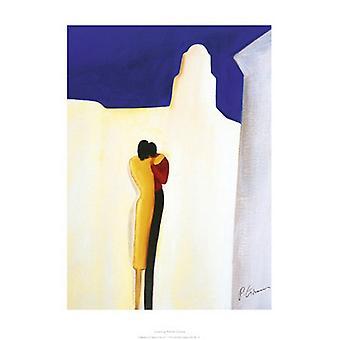 Lovers Poster Print by Patrick Ciranna (20 x 28)