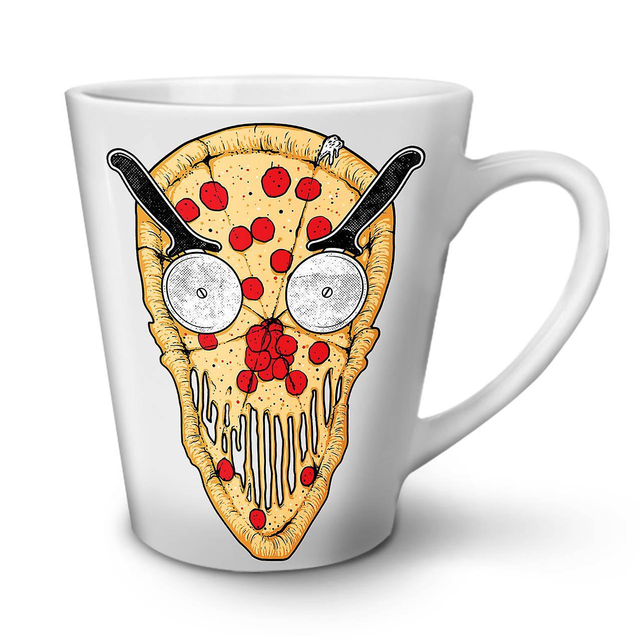 12 Drôle Céramique Pizza Thé Blanc Slice De Nouvelle Café En OzWellcoda Tasse Face Latte ybf67g
