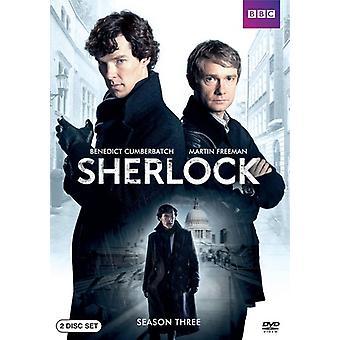 Sherlock - Sherlock: Season 3 [DVD] USA import