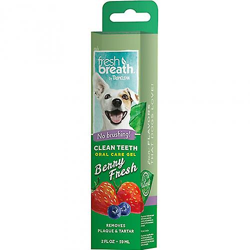 Tropiclean Fresh Breath Clean Teeth Gel For Dogs (Berrry Fresh)