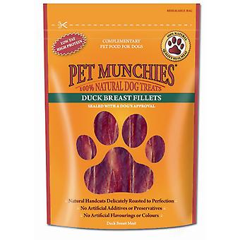 Pet Munchies Duck Breast Fillets (Dogs , Treats , Eco Products)