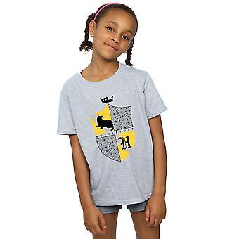 Harry Potter T-Shirt für Mädchen Hufflepuff Schild