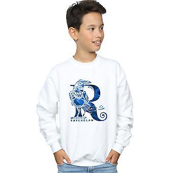 Harry Potter Boys Ravenclaw Raven Sweatshirt