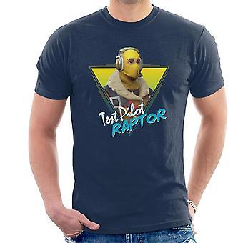 Camiseta Fortnite Retro Raptor varonil
