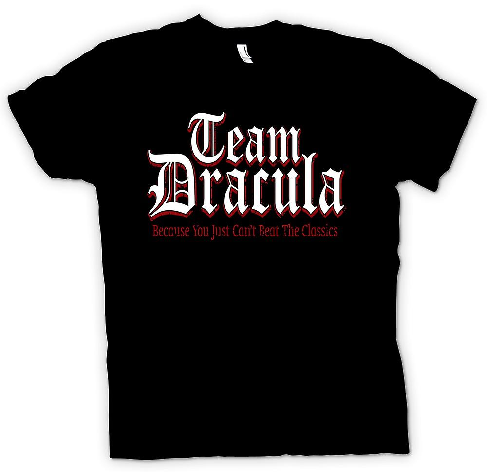 Womens T-shirt - Team Dracula - Funny