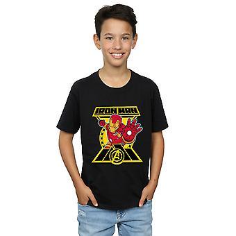 Marvel Boys Avengers Iron Man Logo T-Shirt