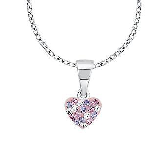 Prinsesse Lillifee barn barna sølv hjertet krystaller 2013171