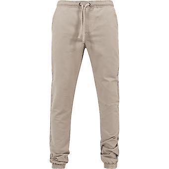 Urban classics washed canvas jogging pants