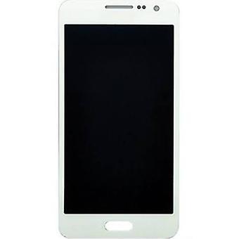 Samsung Galaxy A300 LCD Baugruppe - weiß - Servicepack