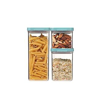Mepal Omnia Storage Box-Set von 3, Nordische Grüne