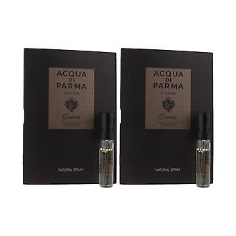 Acqua Di Parma 'Colonia Quercia' Eau De Cologne concentraat 1.2ml (Pack van 2)
