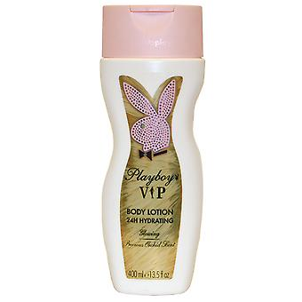 VIP by Playboy Playboy Body Lotion 24H Hydrating 400ml Precious Orchid Scent Glowing