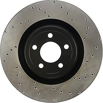 StopTech 128.61116L Sport Drilled Rotor (Left)