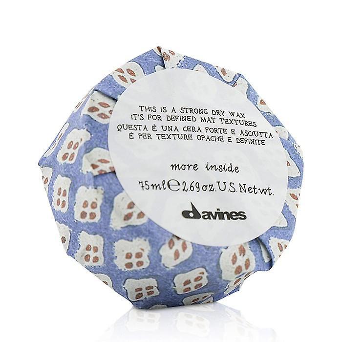 Davines meer binnen dit Is een sterke droge Wax (voor gedefinieerde Mat Textures) - 75ml/2,69 oz