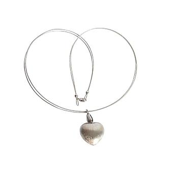 Gemshine - women - heart - pendant - necklace - 925 Silver - 45 cm