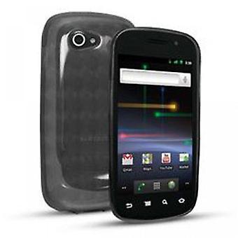 Sprint Slider piel caso para Samsung 9100 Nexus humo/negro