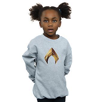 DC Comics meisjes Aquaman embleem Sweatshirt
