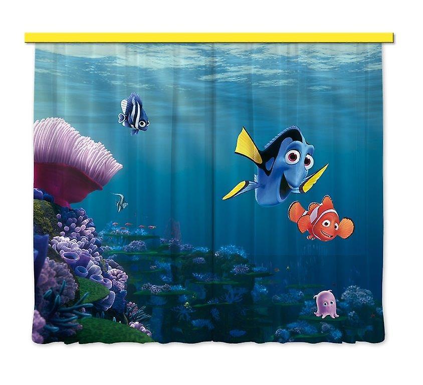 Coucher De Rideaux Paire La Disney Chambre À Nemo Pour 180x160cm 43j5RLA