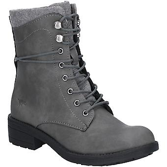 Rocket Dog Womens Tayte Lace & Zip Up Eyelet Ankle Boots